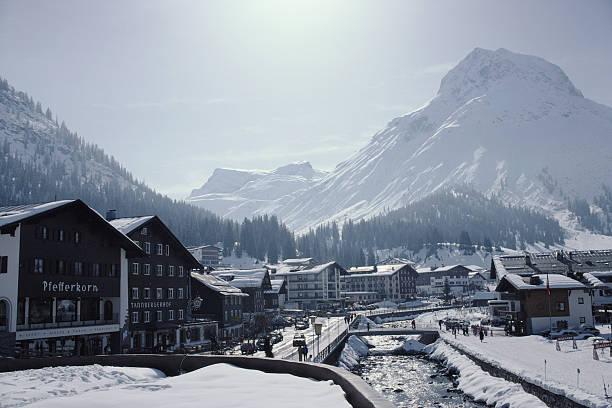Main Street In Lech