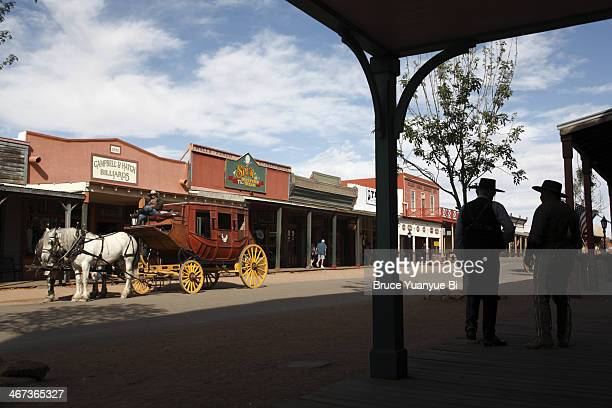 The main street of Tombstone