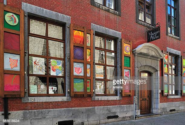 The Maison de la Poesie / Poetry House at Namur Belgium