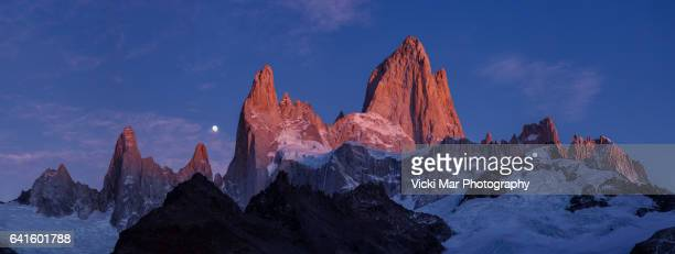 The Majestic Disappearance of the Moon | Mount Fitz Roy, Patagonia