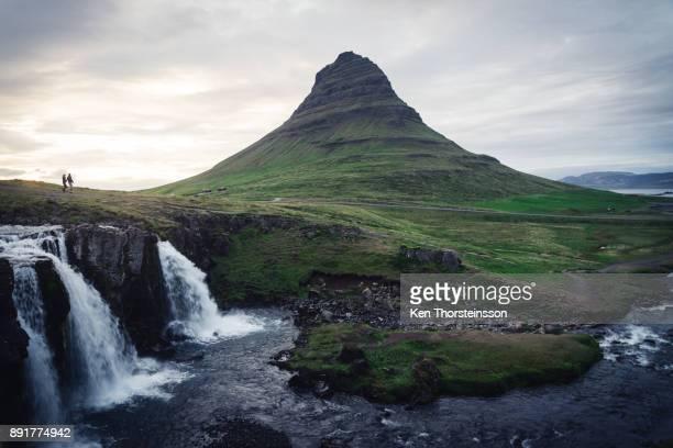 The majestic Kirkjufell in Iceland