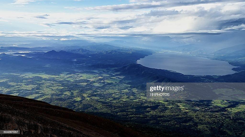 The Majestic Lake Singkarak Marapi Bukittinggi High Res Stock Photo Getty Images