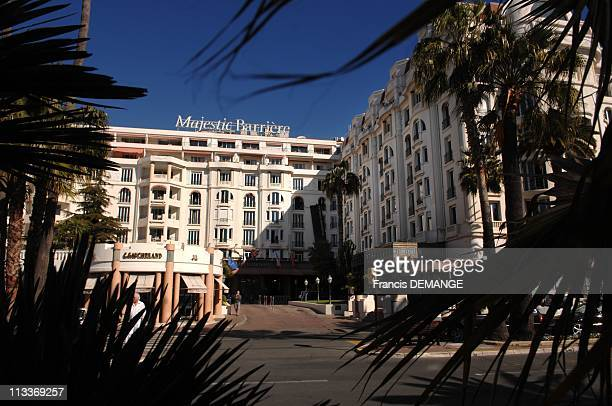 The 'Majestic' Palme D'Or Among The Hotels Frequented By The Stars Of The Cannes Film Festival In Cannes France On March 18 2008 The 'Majestic' in...