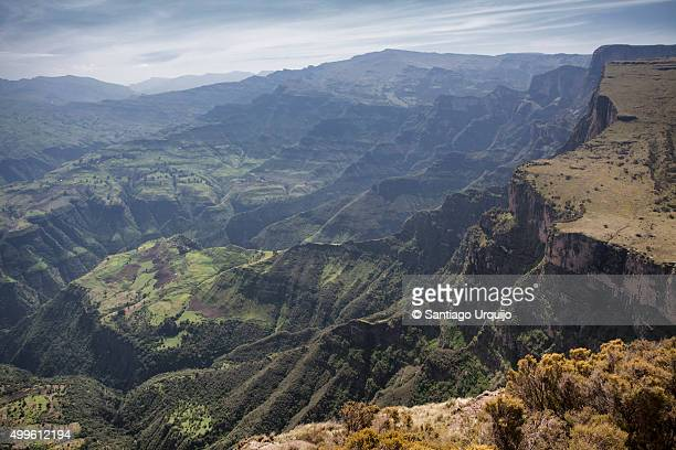 The majestic Simien Mountains