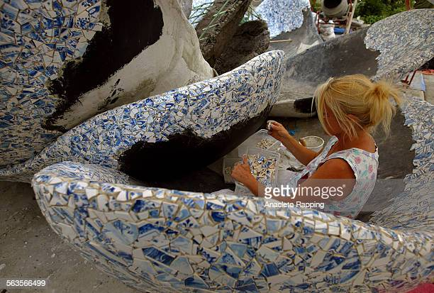 The making of the delft fountain at the new Disney Concert Hall The Lillian Disney Memorial Fountain will also be known as A Rose for Lilly Frank...