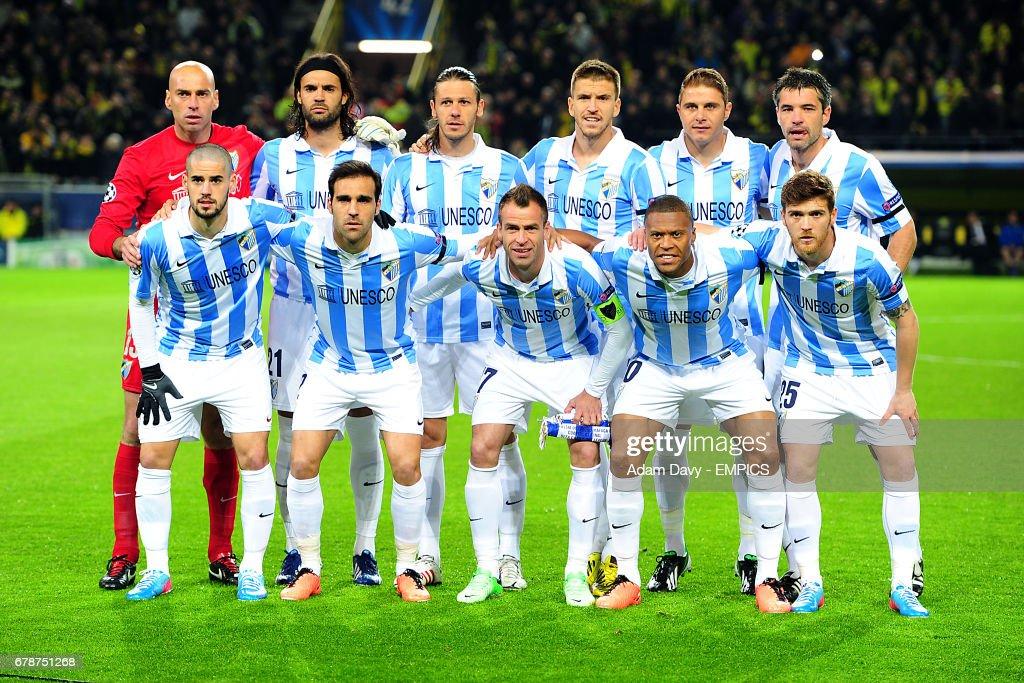 Soccer - UEFA Champions League - Quarter Final - Second Leg - Borussia Dortmund v Malaga CF - Westfalenstadion : News Photo