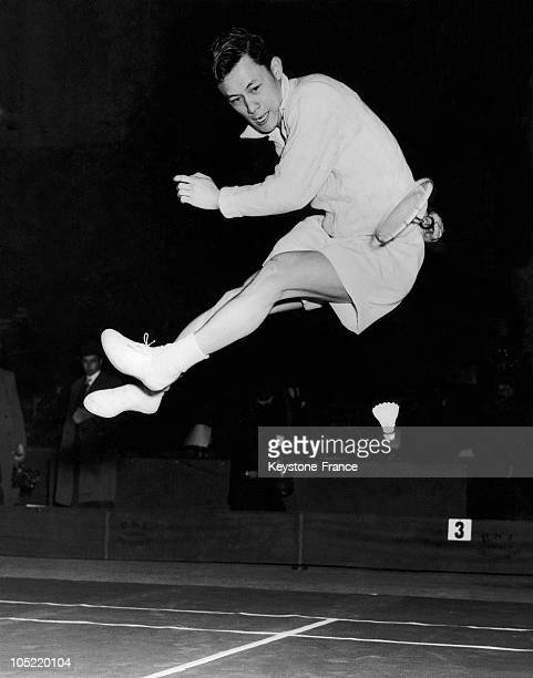 The Malaysian Badminton Champion Eddie Choong In London In 1951