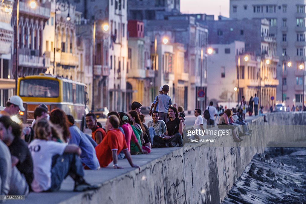 The Malecon, Havana, Cuba : Stock Photo
