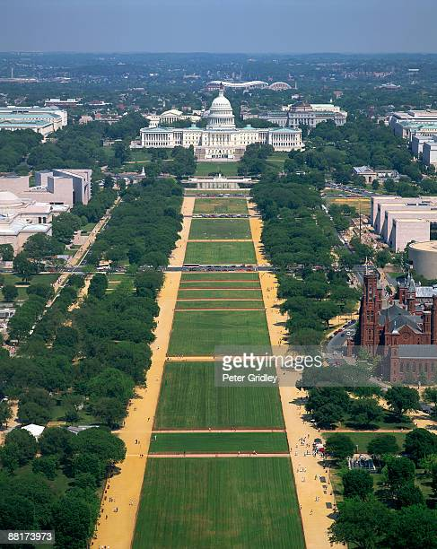 The Mall and US Capitol building, Washington, DC