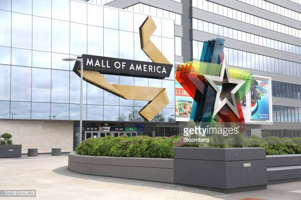 The Mall of America stands in Bloomington, Minnesota, U.S., on Wednesday, June 10, 2020. The mall was initially closed due to the coronavirus...