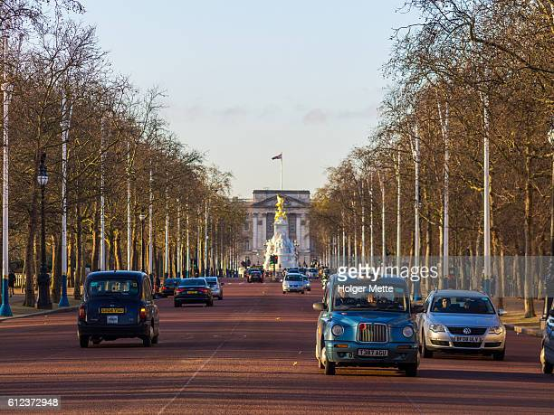 The Mall Road in London, United Kingdom
