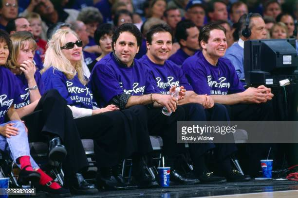 The Maloof Family attends a game played at the Arco Arena in Sacramento, California circa 2001. NOTE TO USER: User expressly acknowledges and agrees...