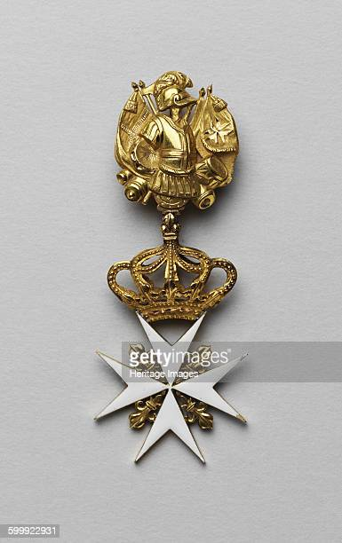The Maltese cross of Maria Fyodorovna, Late 18th century. Found in the collection of State History Museum, Moscow. Artist : Orders, decorations and...