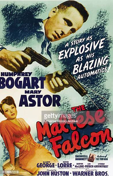 The Maltese Falcon is a 1941 film noir based on the novel of the same name by Dashiell Hammett Directed by John Huston the film stars Humphrey Bogart...