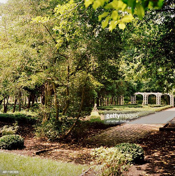 The Malvern House grounds are photographed for Town Country Magazine on May 6 2012 in Louisville Kentucky PUBLISHED IMAGE
