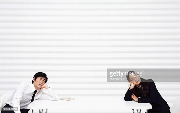The man and woman who quarrels