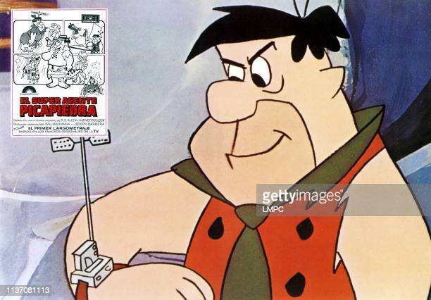 The Man Called Flintstone lobbycard Fred Flinstone 1966