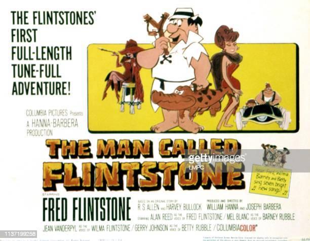 The Man Called Flintstone lobbycard Fred Flintstone 1966