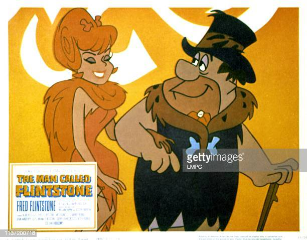 The Man Called Flintstone lobbycard Fred Flintstone 1966