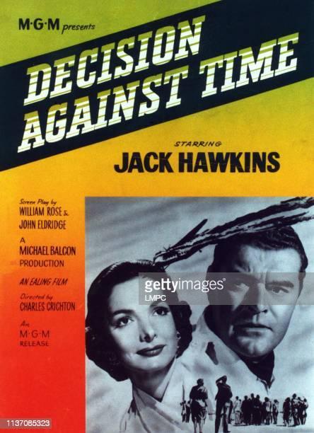 The Man In The Sky poster from left Elizabeth Sellars Jack Hawkins 1957