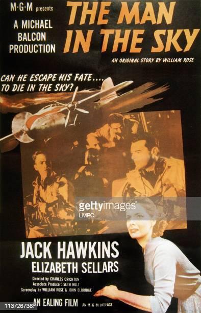 The Man In The Sky poster poster Jack Hawkins Elizabeth Sellars 1957