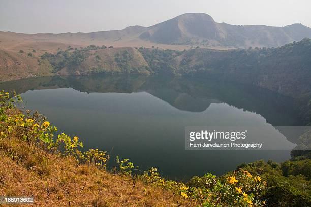 The 'Man' Lake - Manengouba Volcanic Lakes