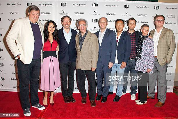 'The Man Who Knew Infinity' actors Stephen Fry Devika Bhise director Matthew Brown author Robert Kanigel Alfred P Sloan Foundation Vice President...