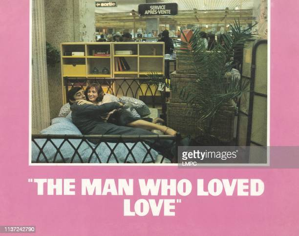 The Man Who Loved Women US lobbycard from left Charles Denner Brigitte Fossey 1977