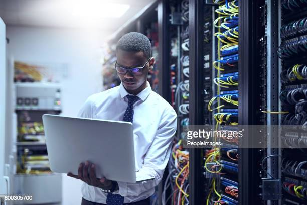 the man with the plan - information technology support stock photos and pictures