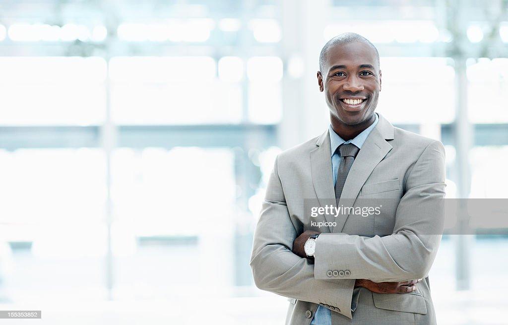 Uomo di cui hai bisogno per il tuo business ventures-Copyspace : Foto stock