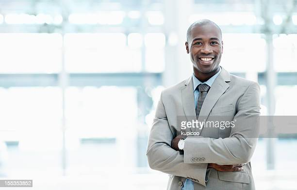 the man you need for your business ventures - copyspace - most handsome black men stock photos and pictures