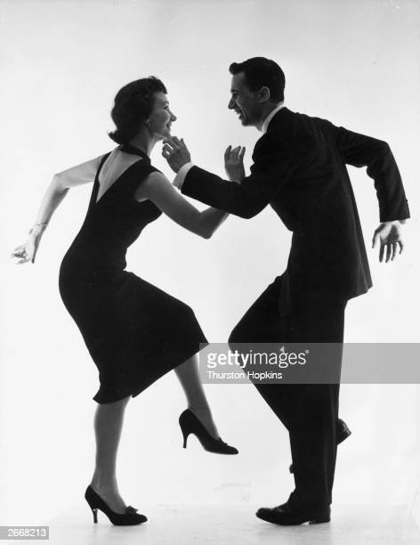 The manager of the Arthur Murray School of Dance London and his wife demonstrating the Cha Cha The Mambo underwent subtle changes developed into a...