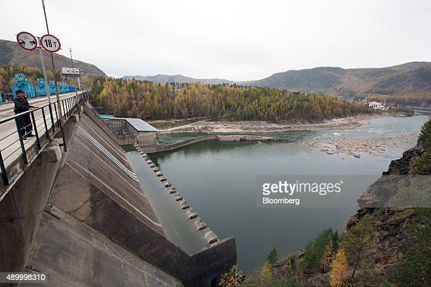 The Manakanskaya hydroelectric power station operated by Polyus Gold International Ltd sits on the Mamakan river near Bodaybo Russia on Tuesday Sept...