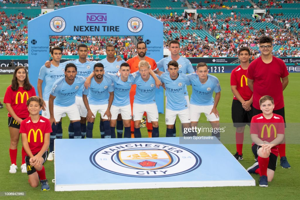 SOCCER: JUL 28 International Champions Cup - FC Bayern Munich v Manchester City FC : News Photo