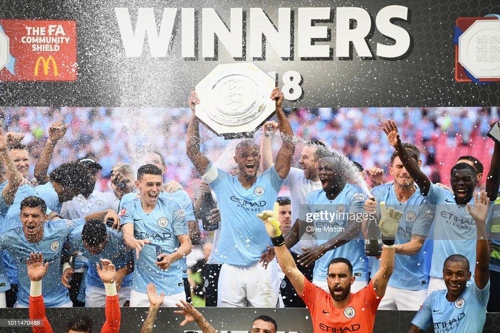 Manchester City v Chelsea - FA Community Shield : ニュース写真