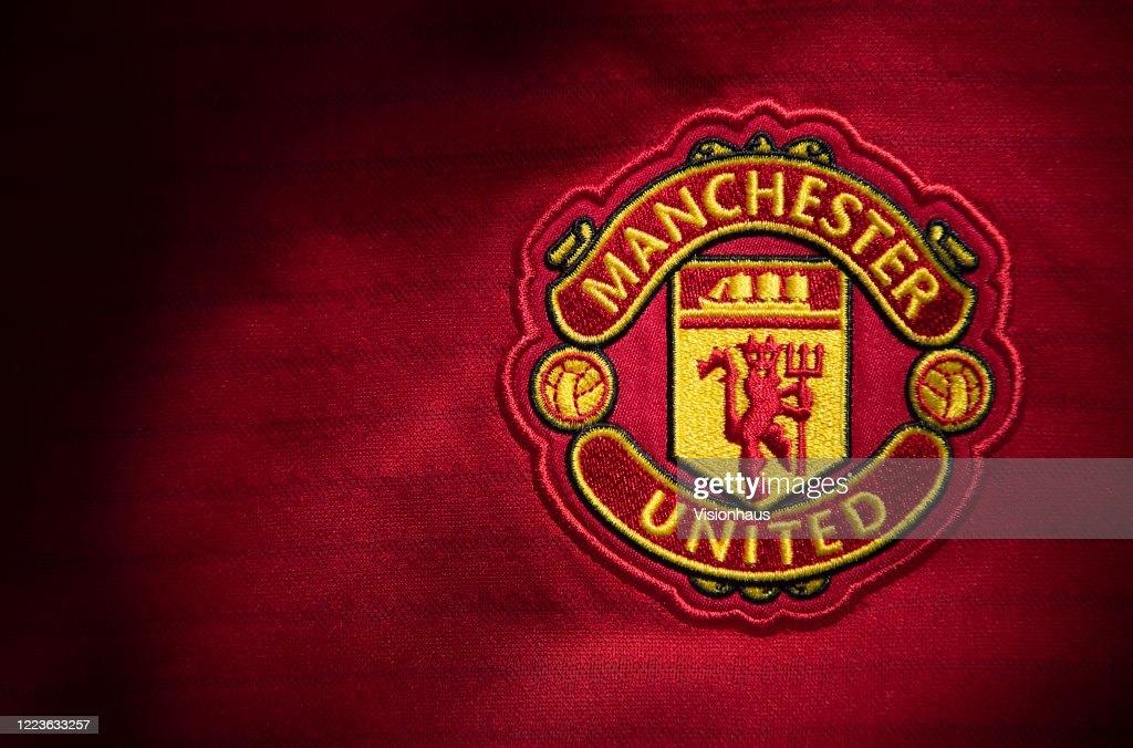 The Manchester United Club Crest : News Photo