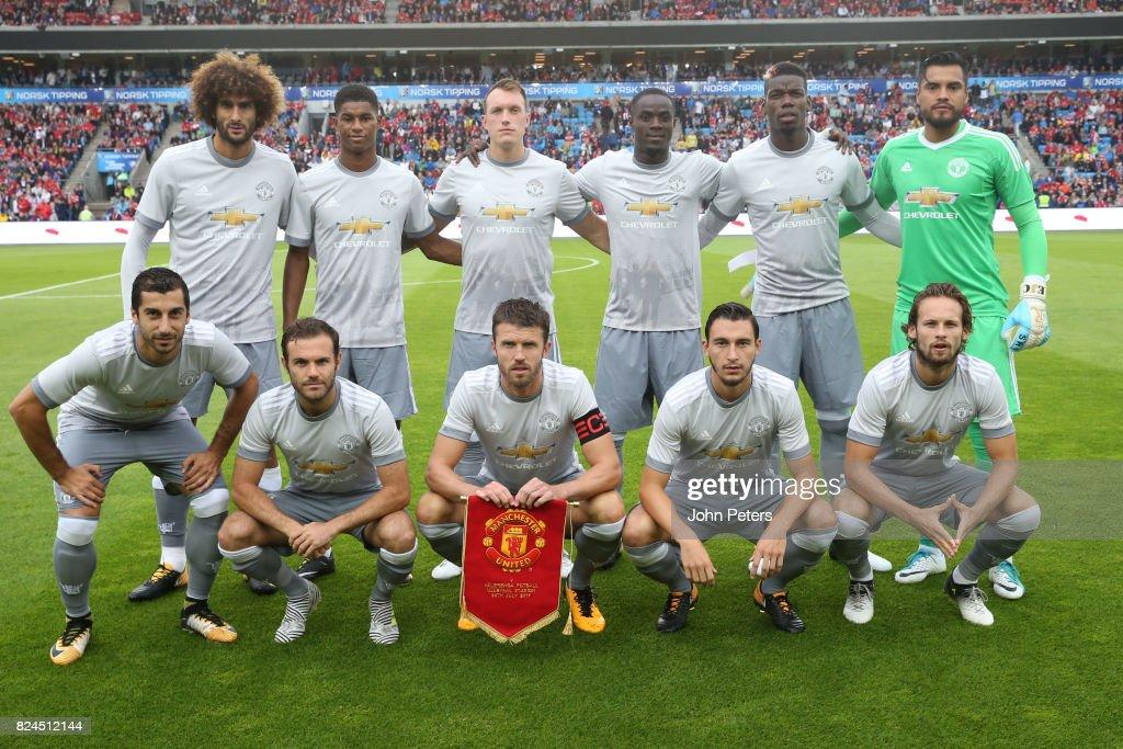 Valerenga v Manchester United - Pre-Season Friendly : ニュース写真