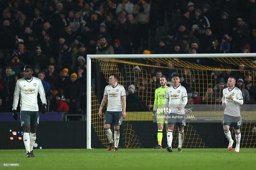 Hull City v Manchester United - EFL Cup Semi-Final: Second Leg : News Photo