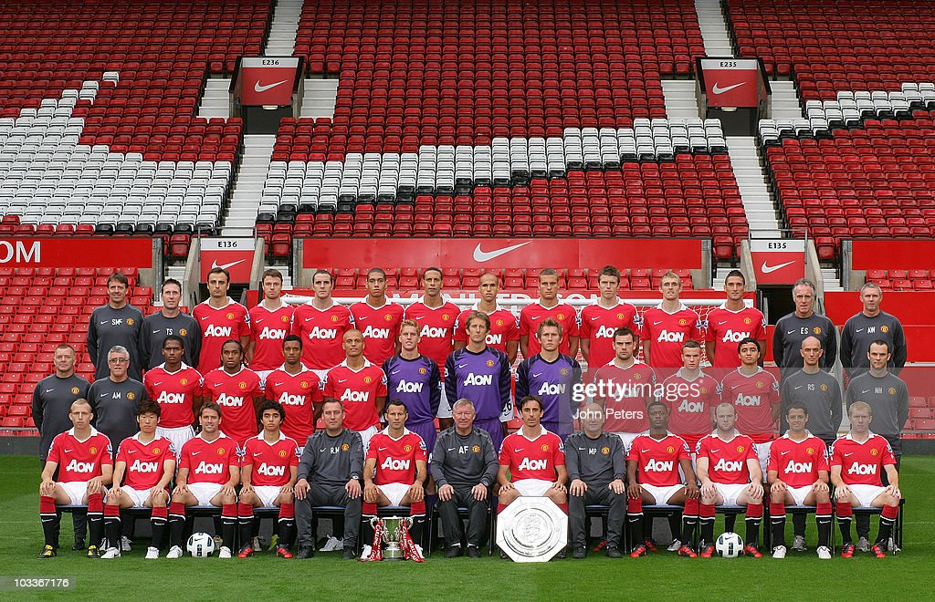 Manchester United FC Team Photograph 2010/11