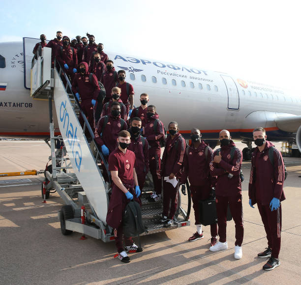 GBR: Manchester United Depart for Germany for the Europa League