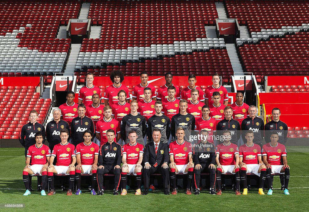 Manchester United Team Group Photocall : News Photo