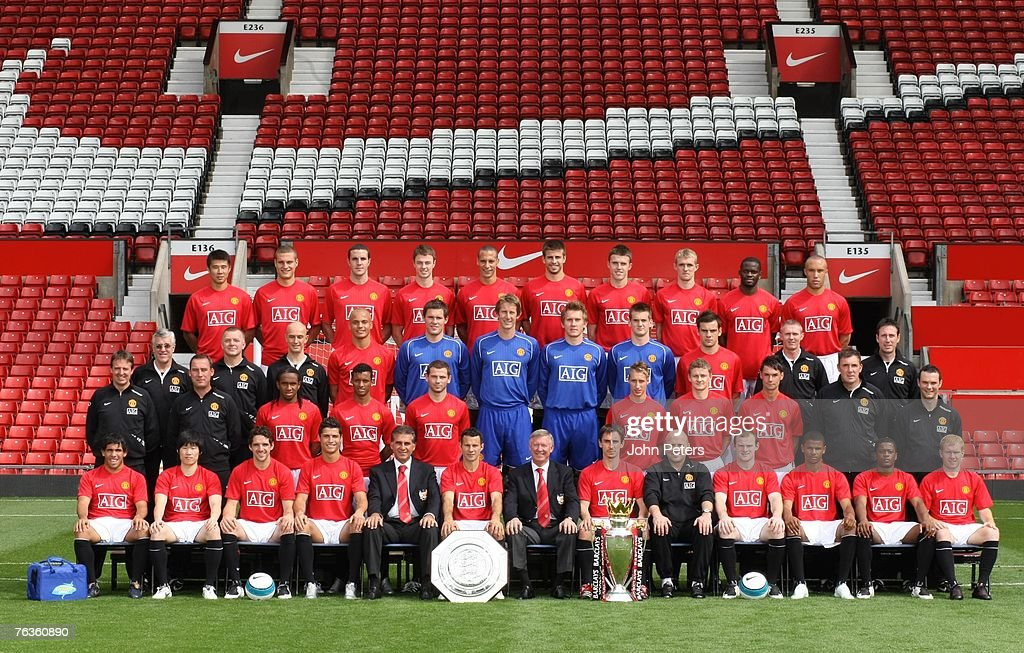 Manchester United Official Team Photo : News Photo