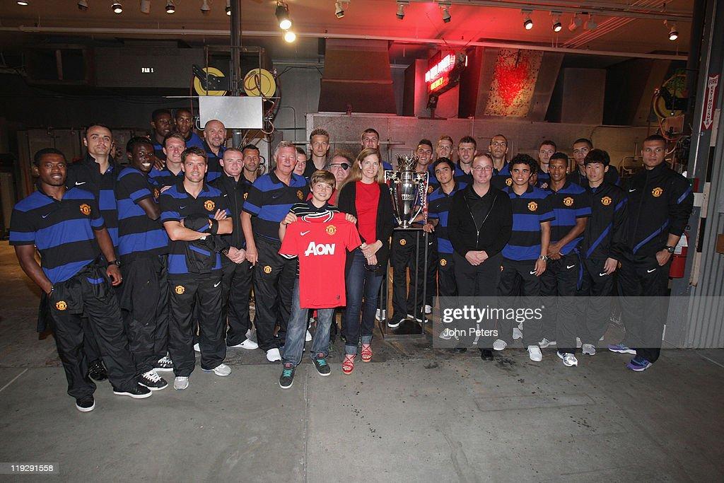 Manchester United Squad Tour Seattle
