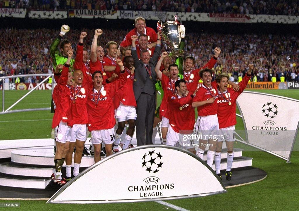 Bayern Munich v Manchester United : News Photo