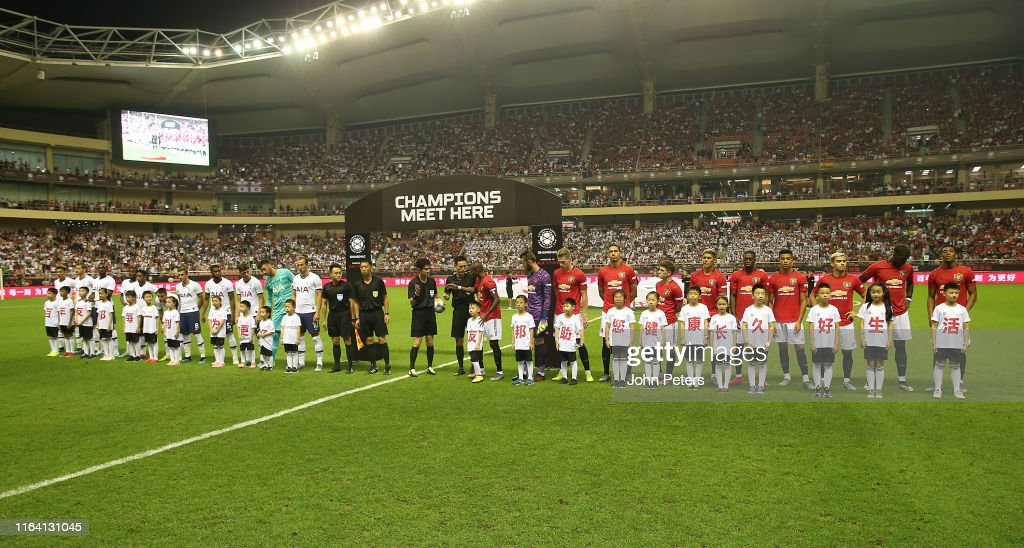 Tottenham Hotspur v Manchester United - 2019 International Champions Cup : News Photo
