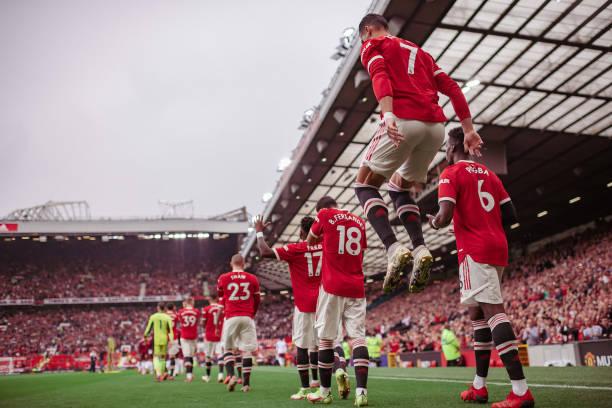 GBR: Manchester United v Aston Villa - Premier League