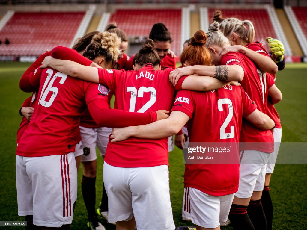 Manchester United v Everton - Barclays FA Women's Super League : News Photo
