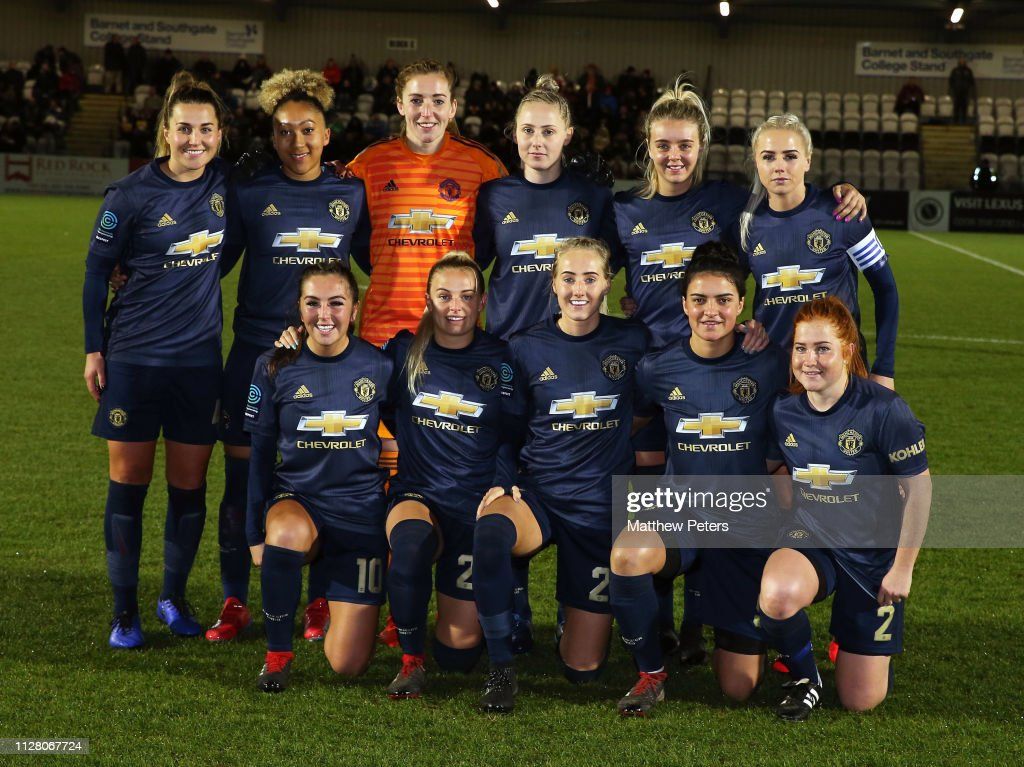 GBR: Arsenal Women v Manchester United Women  - FA WSL Cup