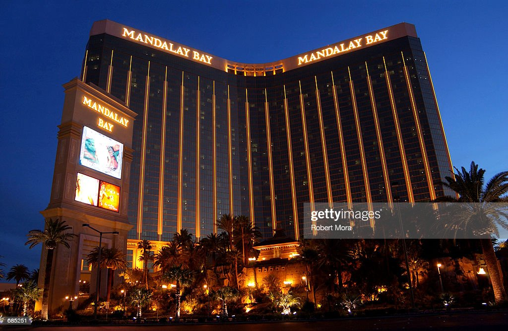 The Mandalay Bay Hotel and Casino is seen on May 30, 2002 in Las Vegas, Nevada.