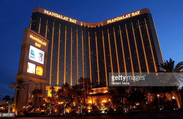The Mandalay Bay Hotel and Casino is seen on May 30 2002 in Las Vegas Nevada
